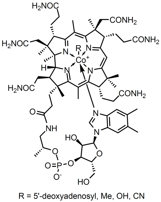 Cobalamin Chemical Structure Picture
