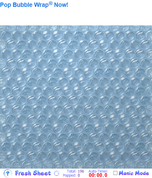 Virtual Bubblewrap Picture