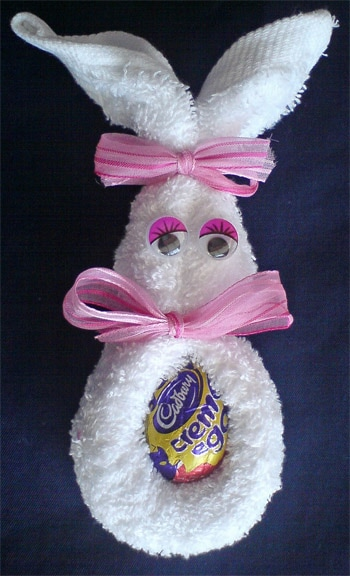 Bunny Candy Holder Picture