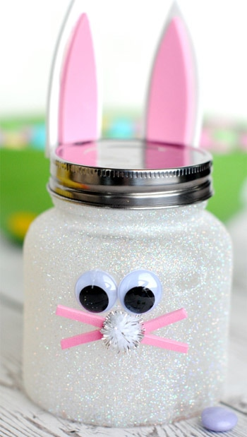 Easter Bunny Jar Picture