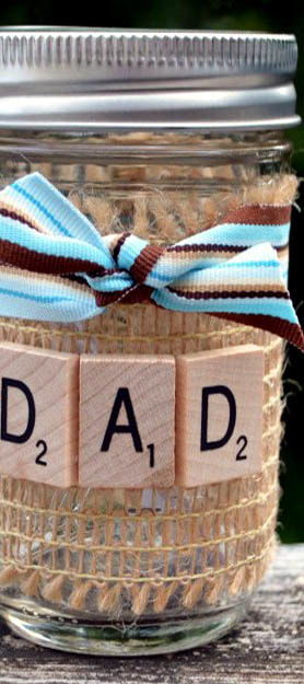 Father's Day Mason Jar Crafts Picture