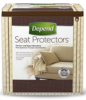Depend Disposable Incontinence Seat Protectors Picture