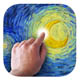 Starry Night Interactive Animation App Icon Picture