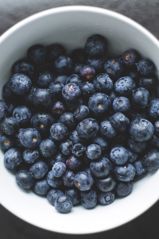 Stress Relief Food - Blueberries
