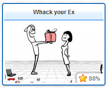 Roundgames.com Whack Your Ex Game Picture