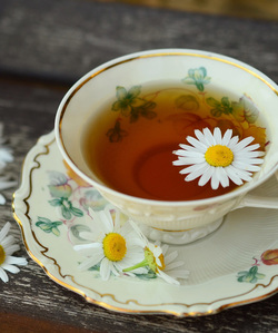 Stress Relief Food - Chamomile Tea