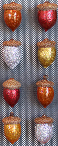 DIY Acorn Wall Art Craft Picture
