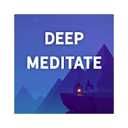 Deep Meditation: Relaxation & Sleep Meditation App Icon Picture