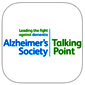 Alzheimer's Society's Talking Point Forum App Icon Picture