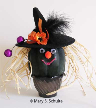 Gourd Witch Picture
