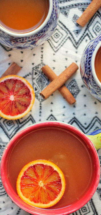 Valentines Hot Blood Orange Apple Cider Picture
