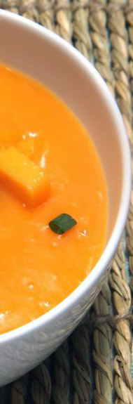 Mother's Day Spicy Chilled Mango & Ginger Soup Picture