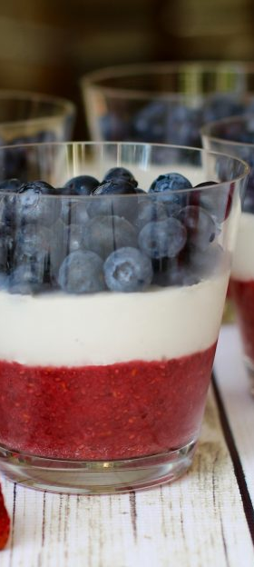 Patriotic 4th of July Parfaits Picture