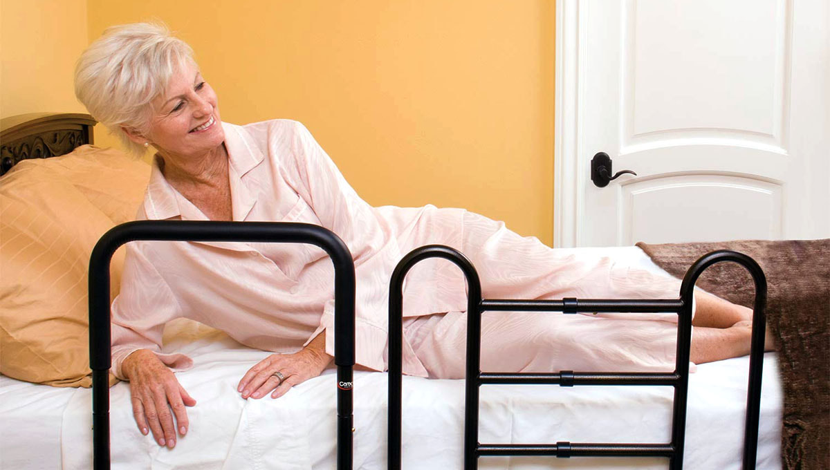 Bed Safety Railing Picture