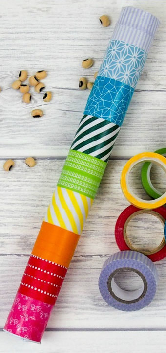 Do-it-Yourself Rain Stick Craft Picture