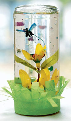 Spring Sensory Bottle Picture