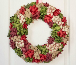 Christmas Bow Wreath Picture